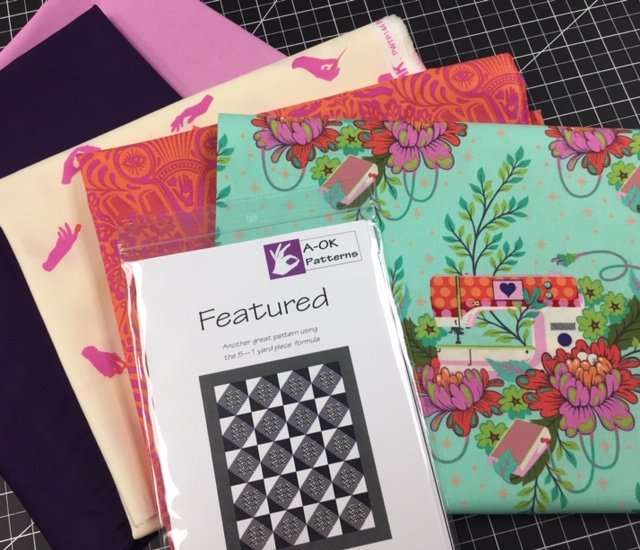 Featured - A 5-yard Quilt Kit