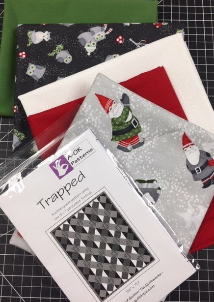 Trapped - A 6-yard Quilt Kit