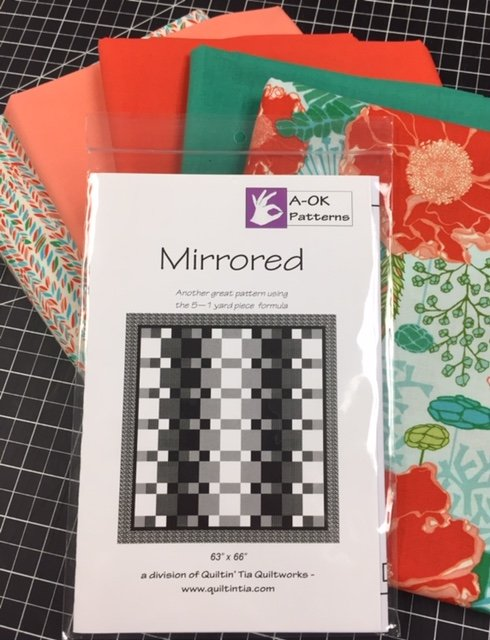 Mirrored - A 6-yard Quilt Kit