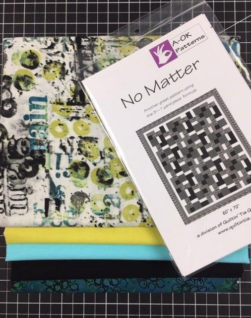 No Matter - A 6-yard Quilt Kit