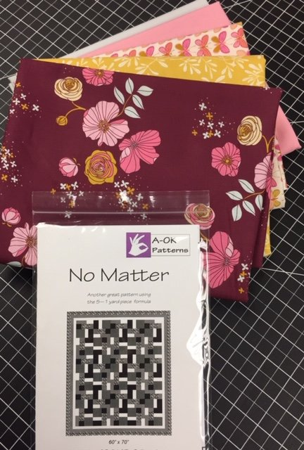No Matter! A 6-yard Quilt Kit