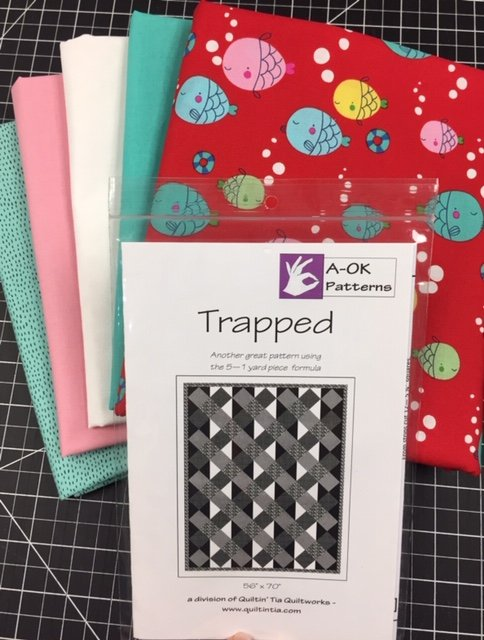 Trapped! - A 6-yard Quilt Kit