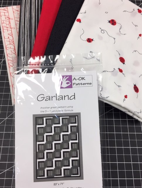 Garland - A 6-yard Quilt Kit