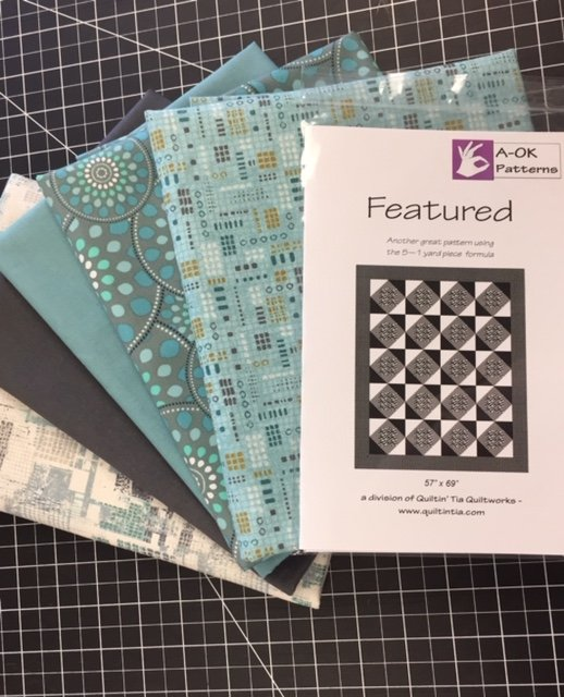 Featured! - A 6-yard Quilt Kit