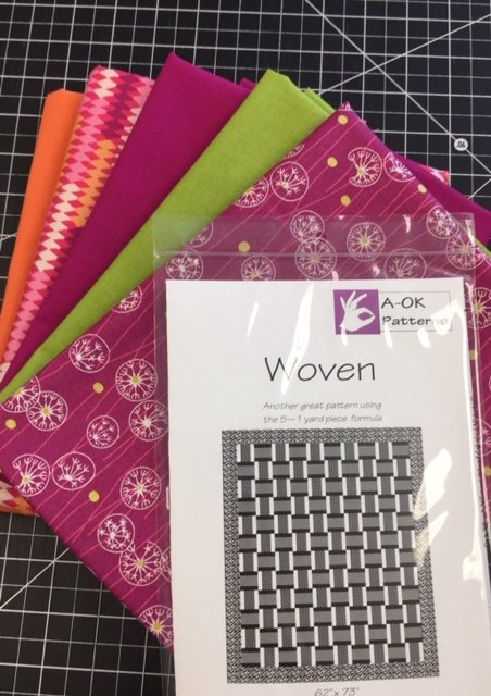 Woven - A 6-yard Quilt Kit