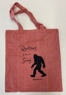 Quilting is the New Sexy - Bigfoot Quilts Exclusive Cotton Tote