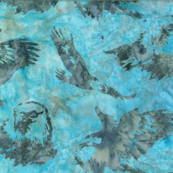 Batik Eagles N2909-79-Seafoam