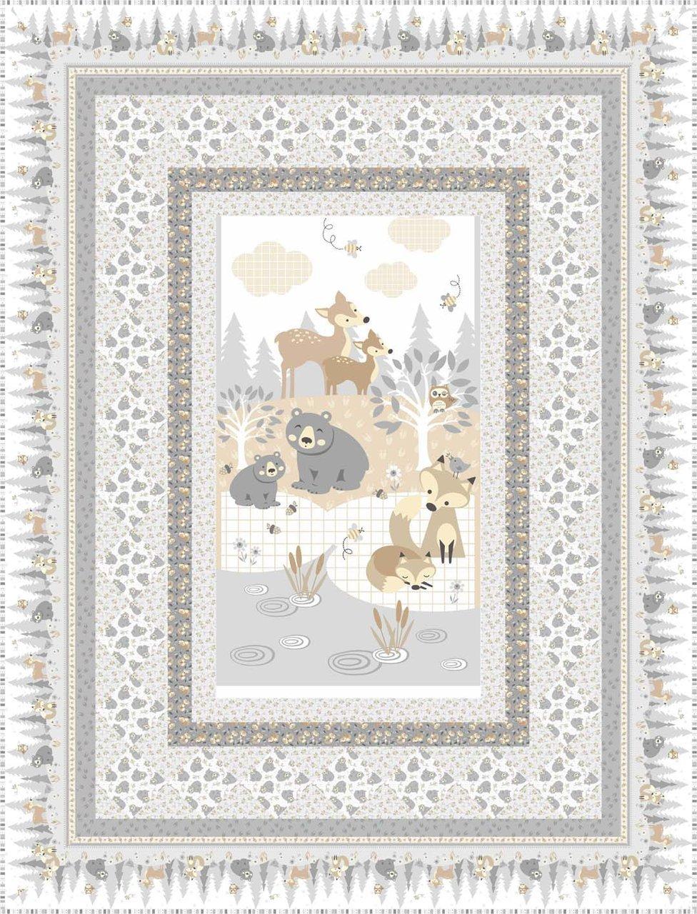 Little Critters Panel Quilt Kit
