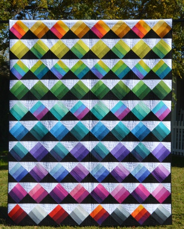Peaks & Valleys Quilt Kit