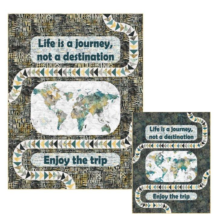 Journey - Throw size Quilt Kit