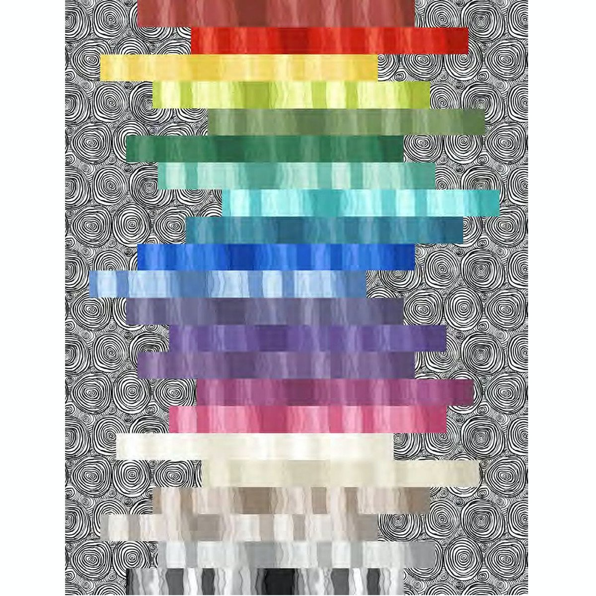 Stratosphere Stacked Quilt Kit