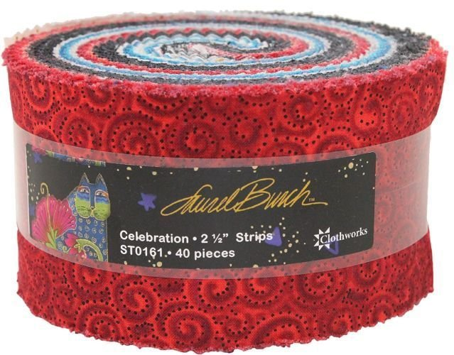 Celebration Laurel Burch 2-1/2in Strips