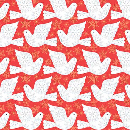 Skogen - Doves in Red