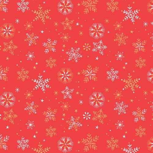 Skogen - Snowflake in Red