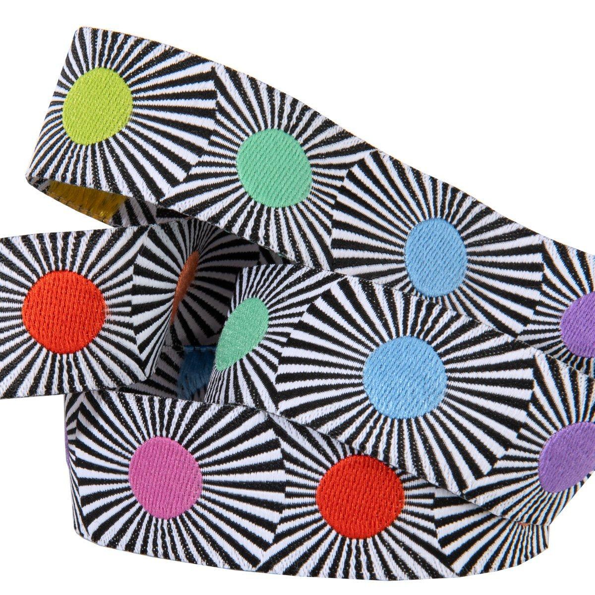 Narrow Multi Dots Ribbon - Tula Pink