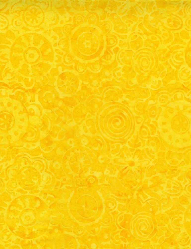 Funky Circle Imprints TONGA-B8628  LEMON