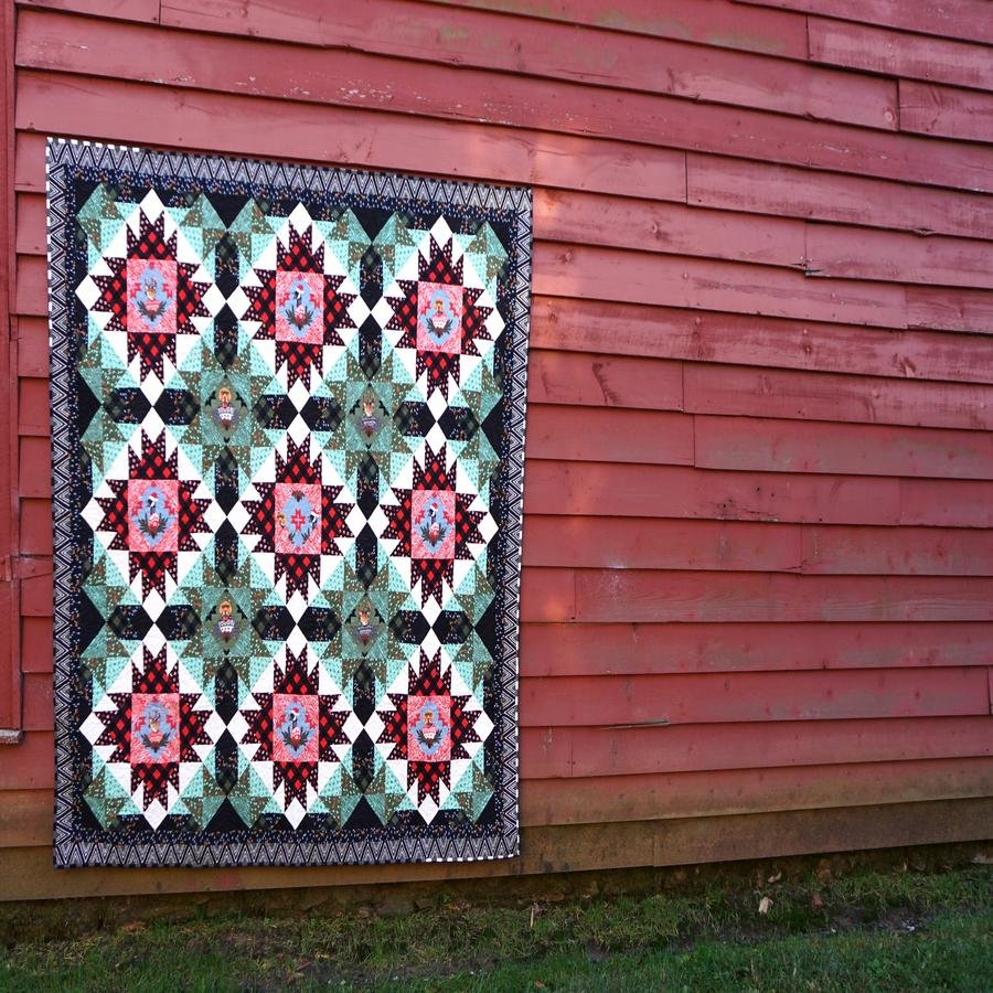 Holiday with Our Homies - Flannel Quilt Kit