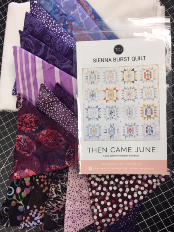 Sienna Burst Quilt Kit