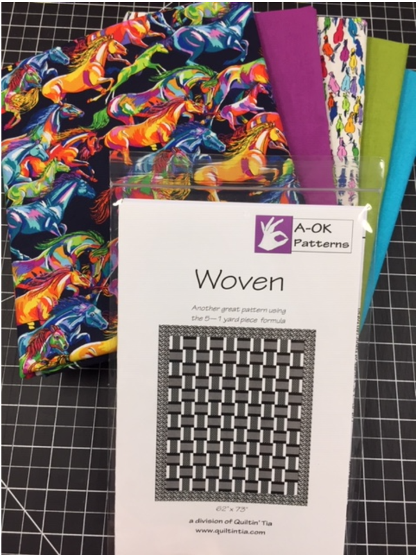 Woven - Another Great 5-yard Quilt Kit