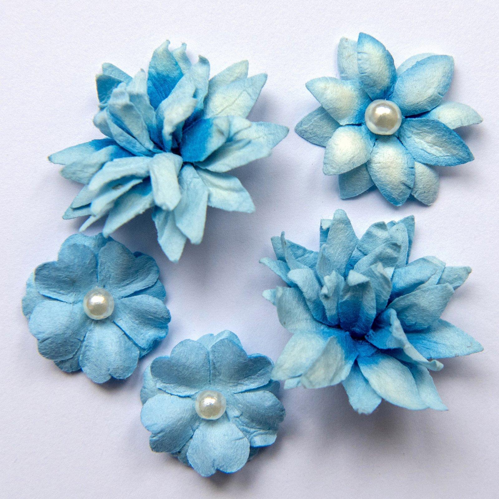 Flower mini series cobalt