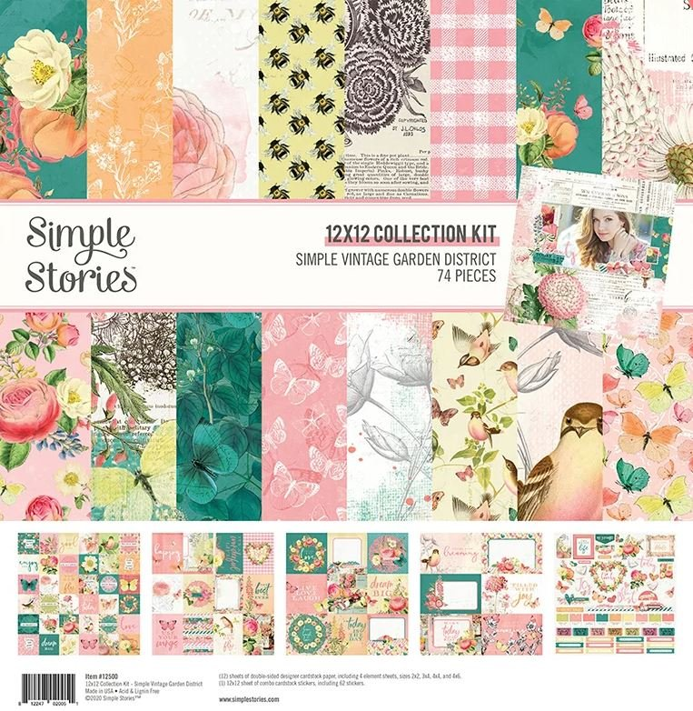 vintage garden district colection pack
