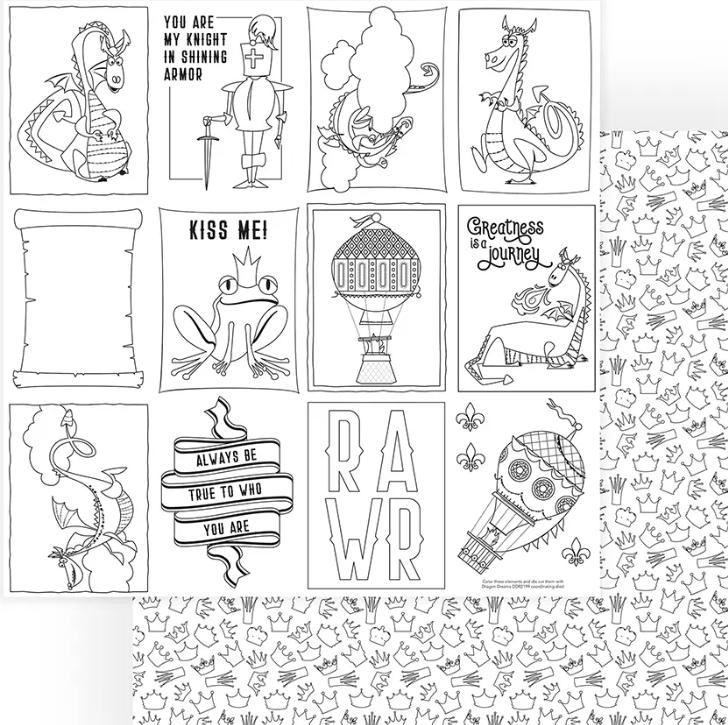 Dragon Dreams Coloring page