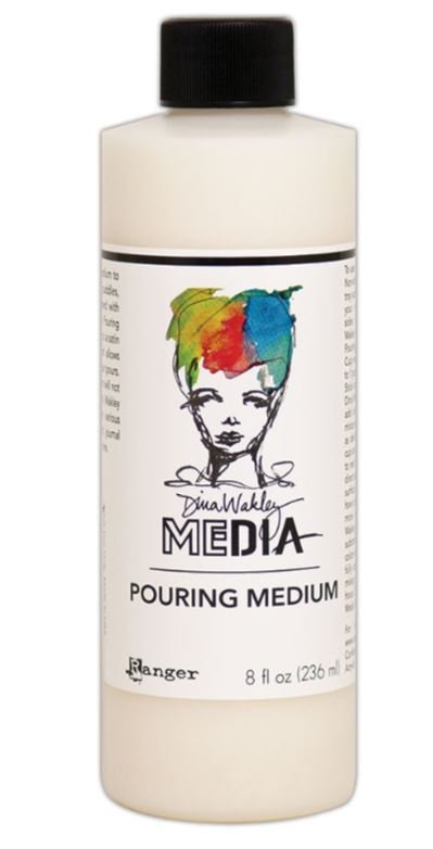 Dina Wakely Pouring Medium