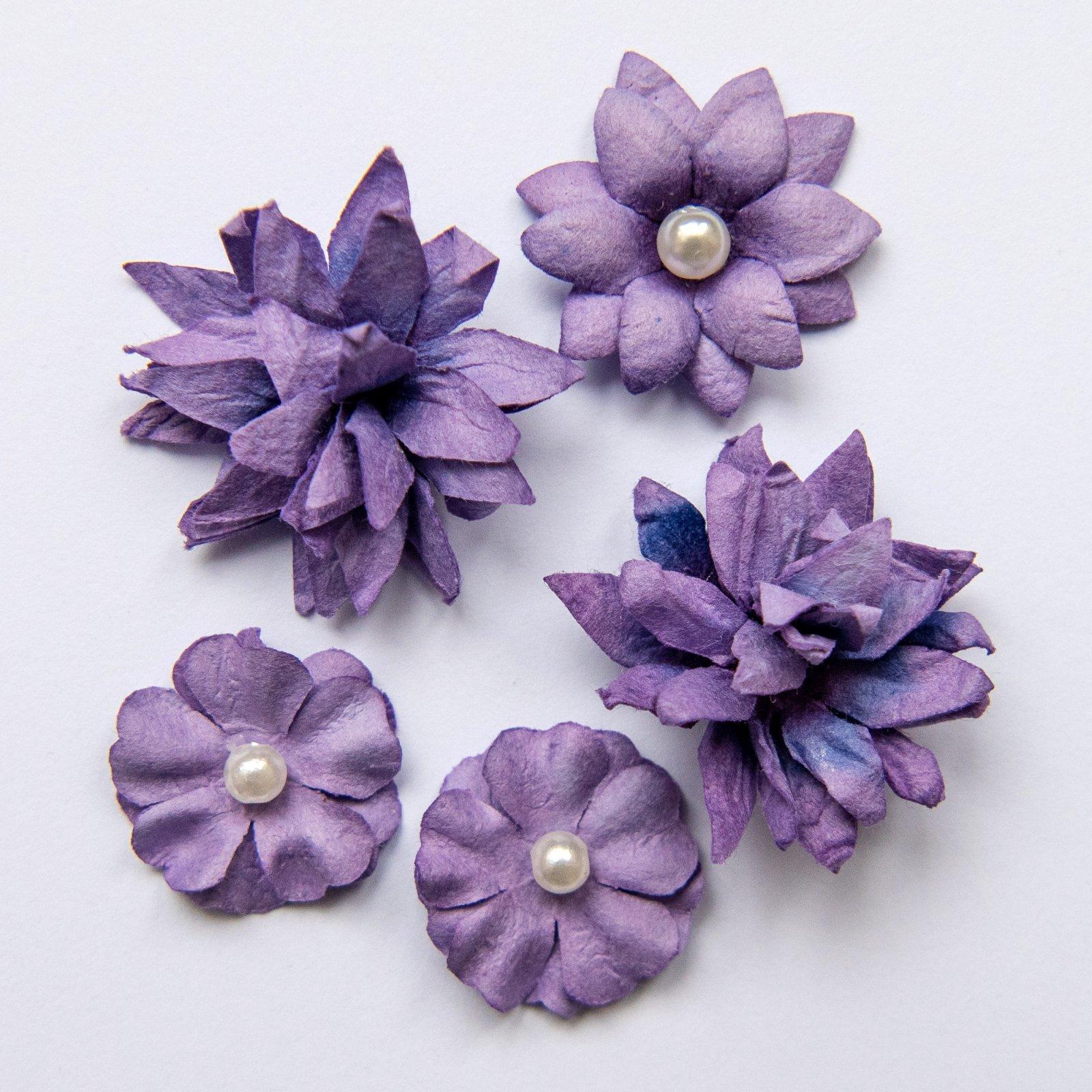 Flower mini series Violet
