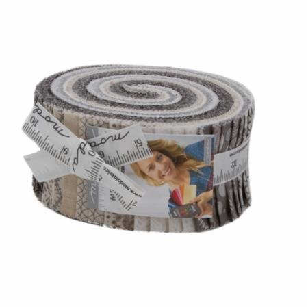 Basic Grey Metropolis Jelly roll