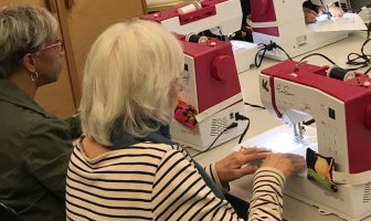teaching sewing machine