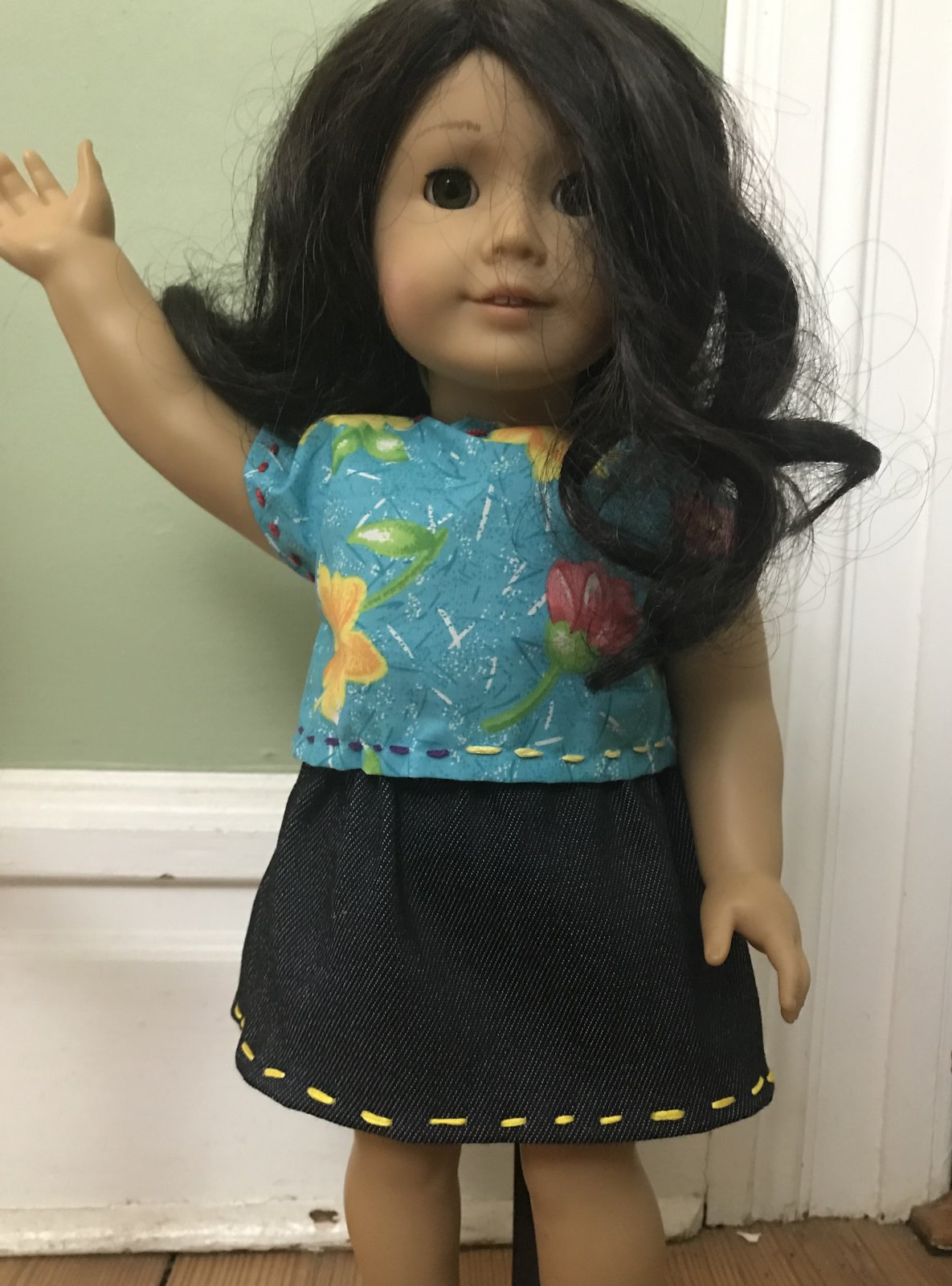 On Demand Hand Sewn Doll Clothing Video - Boxy Top