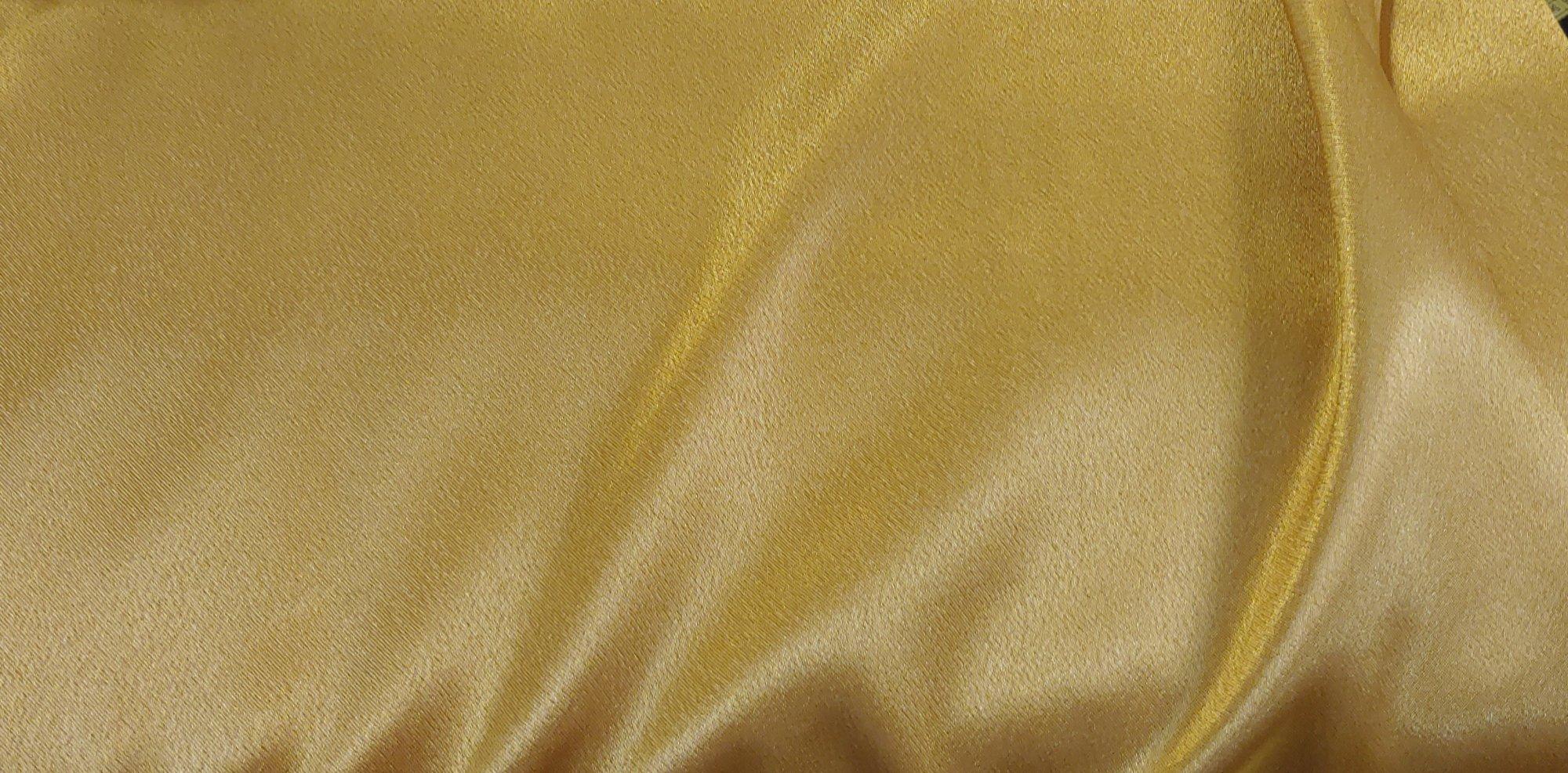 Old Gold Crepe Back Satin