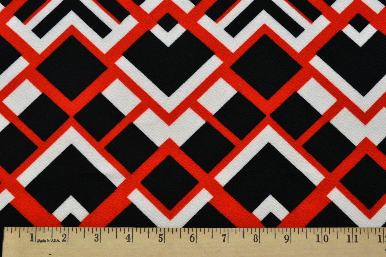 Liverpool Abstract Red/Black