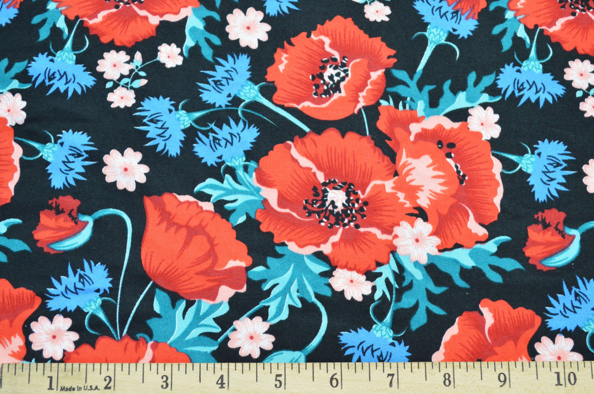 Double Brushed Floral