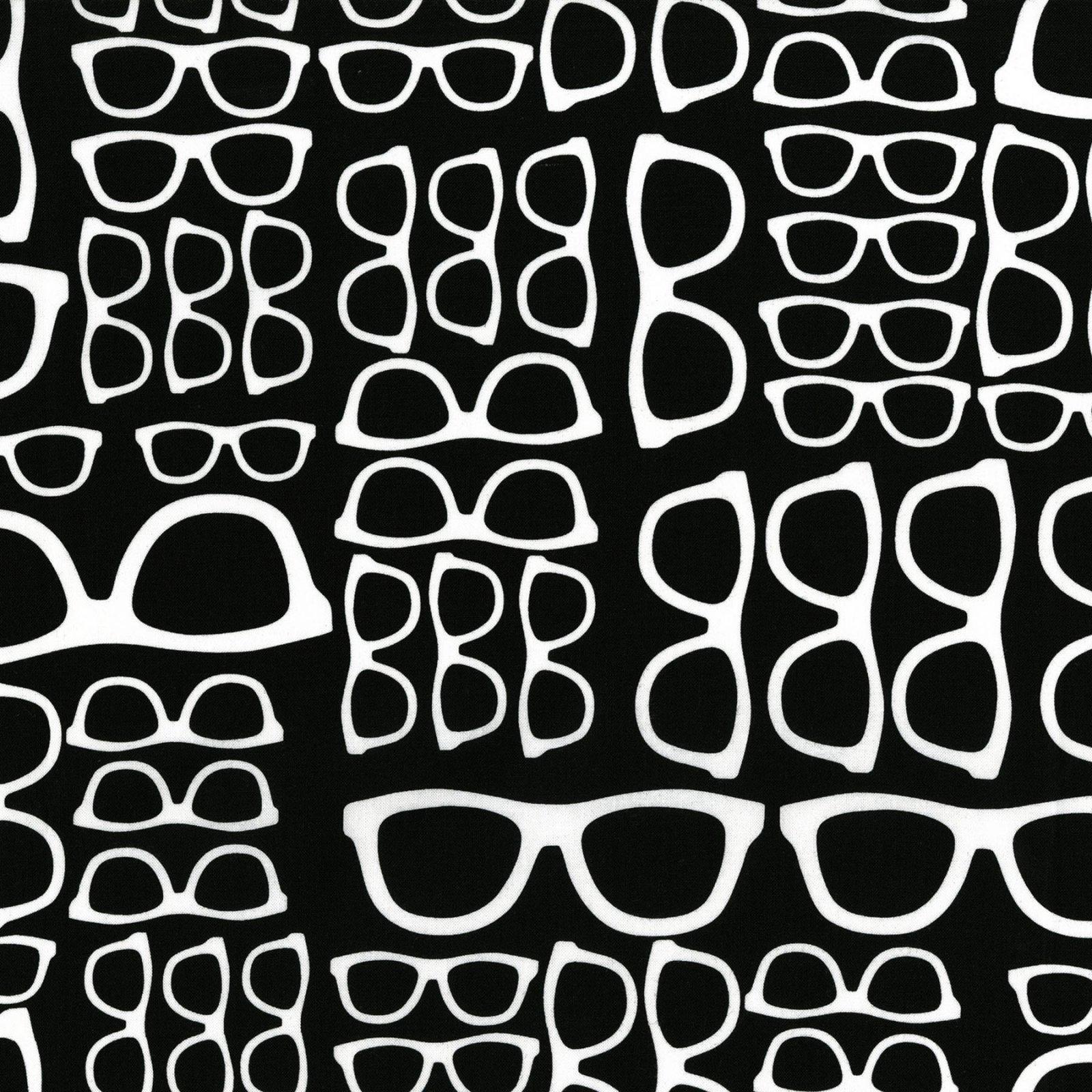 Black & White Glasses
