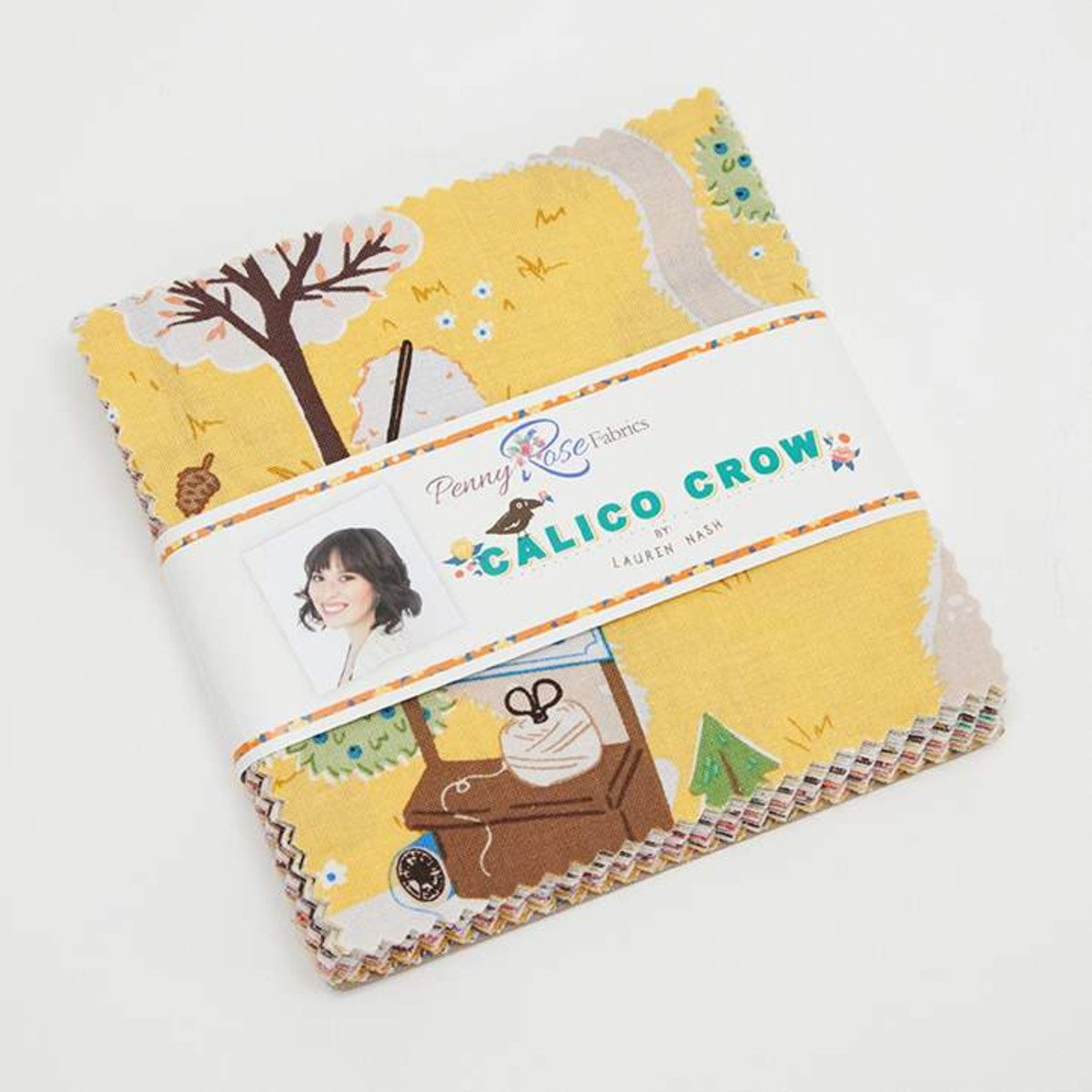Calico Crow 5 Inch Stacker - 42 Pcs