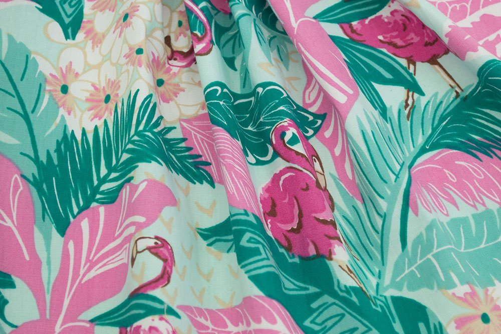 Retro Nation Techno Flamingo Green