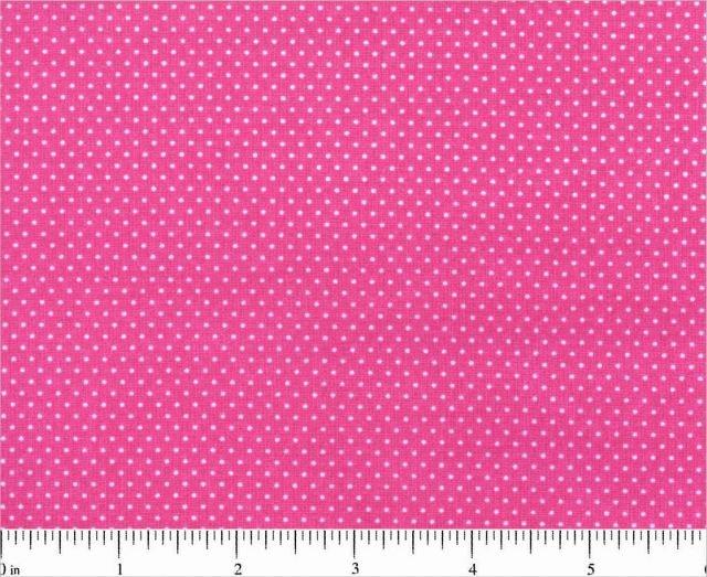 Micro Dot Fuchsia