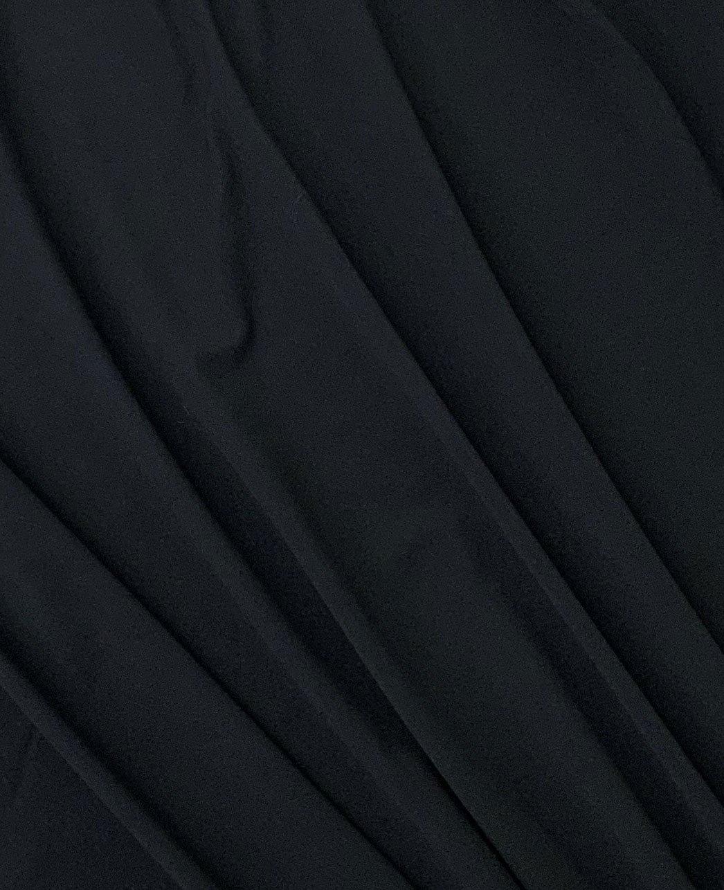Black Poly Spandex Swimwear