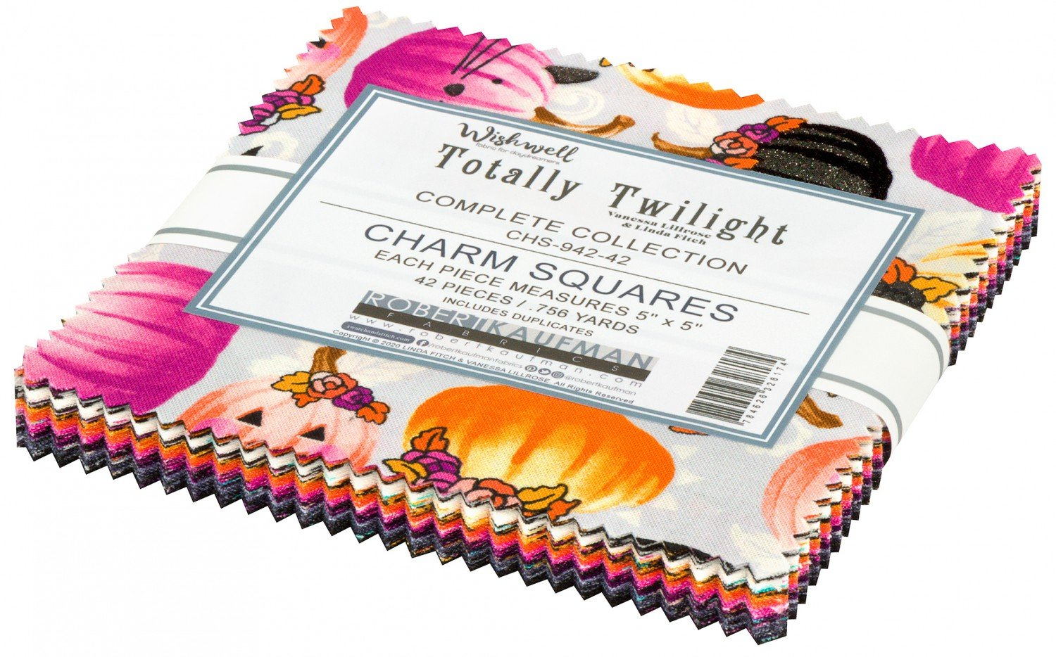 5in Squares, Totally Twilight, 42pcs/bundle