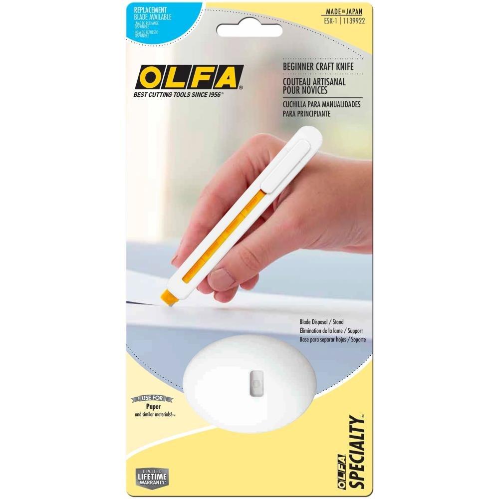 OLFA ESK-1 Beginner Craft Knife