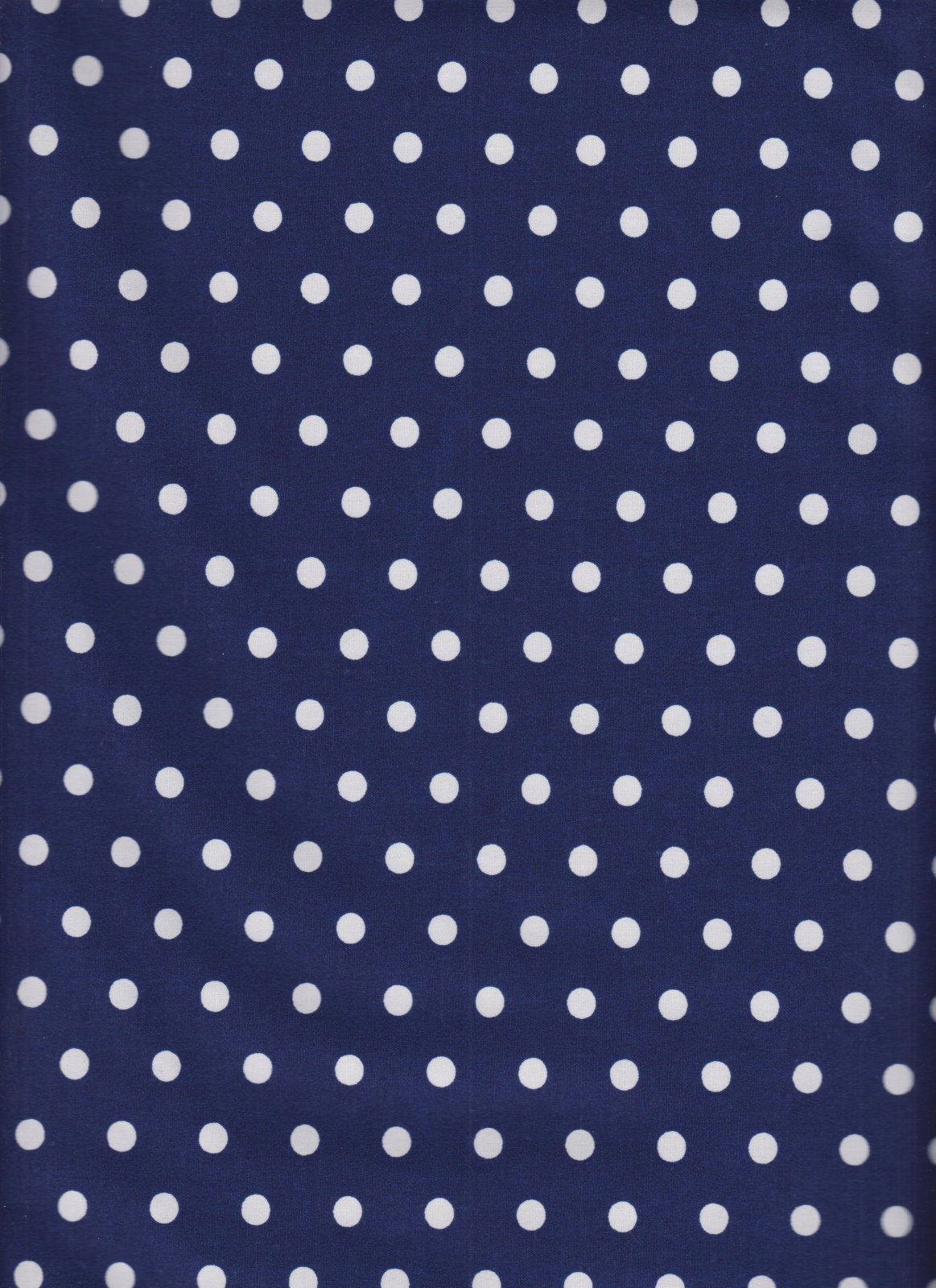 White Dots on Navy Background