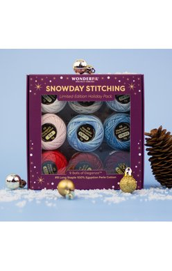 Snowday Stitching Thread Pack