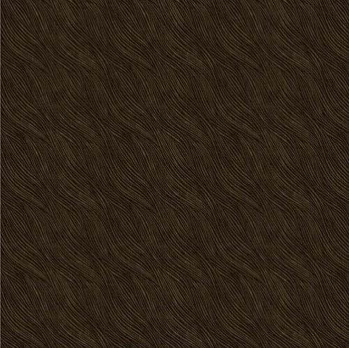Lined Wave Up Dark Brown