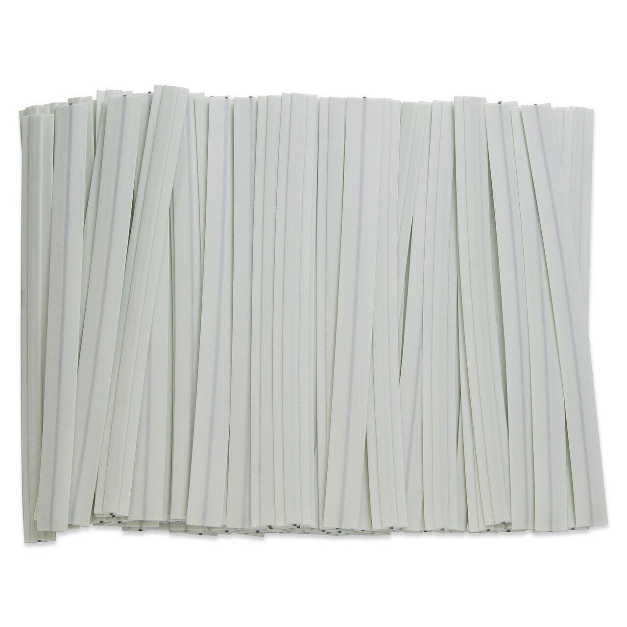 1/4 Bendable Metal Wire Strips - 100 pcs