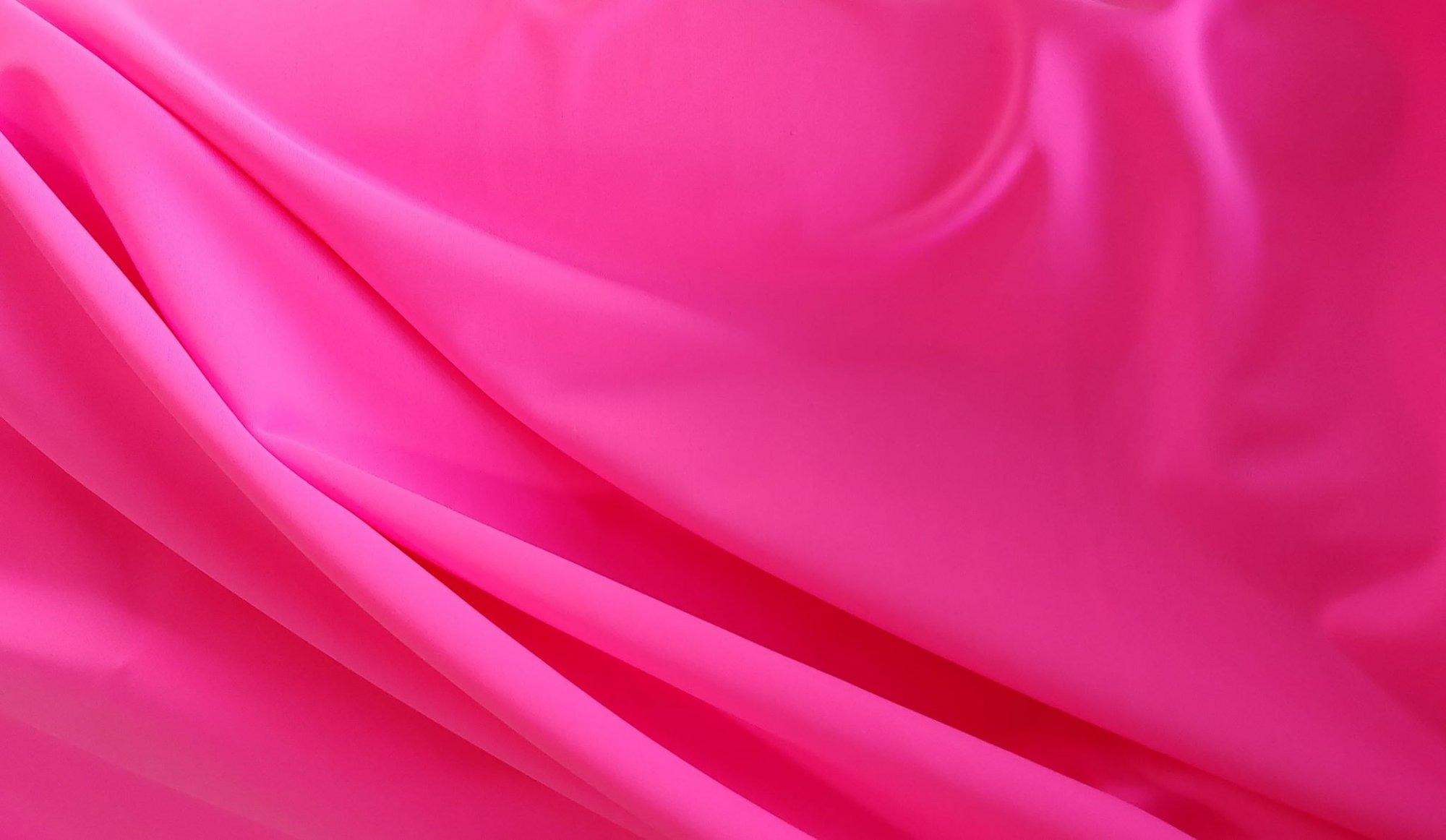 Neon Pink Nylon/Spandex