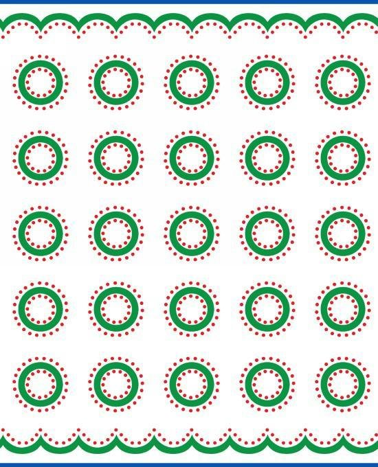 Red and Green Dots