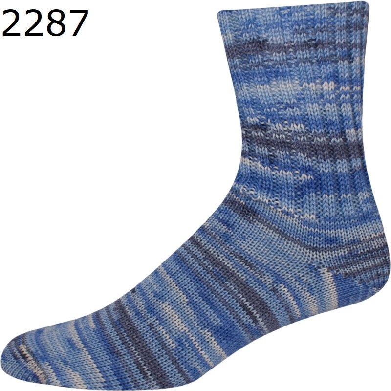 Online Supersocke 4 Ply Aspen Color #2287