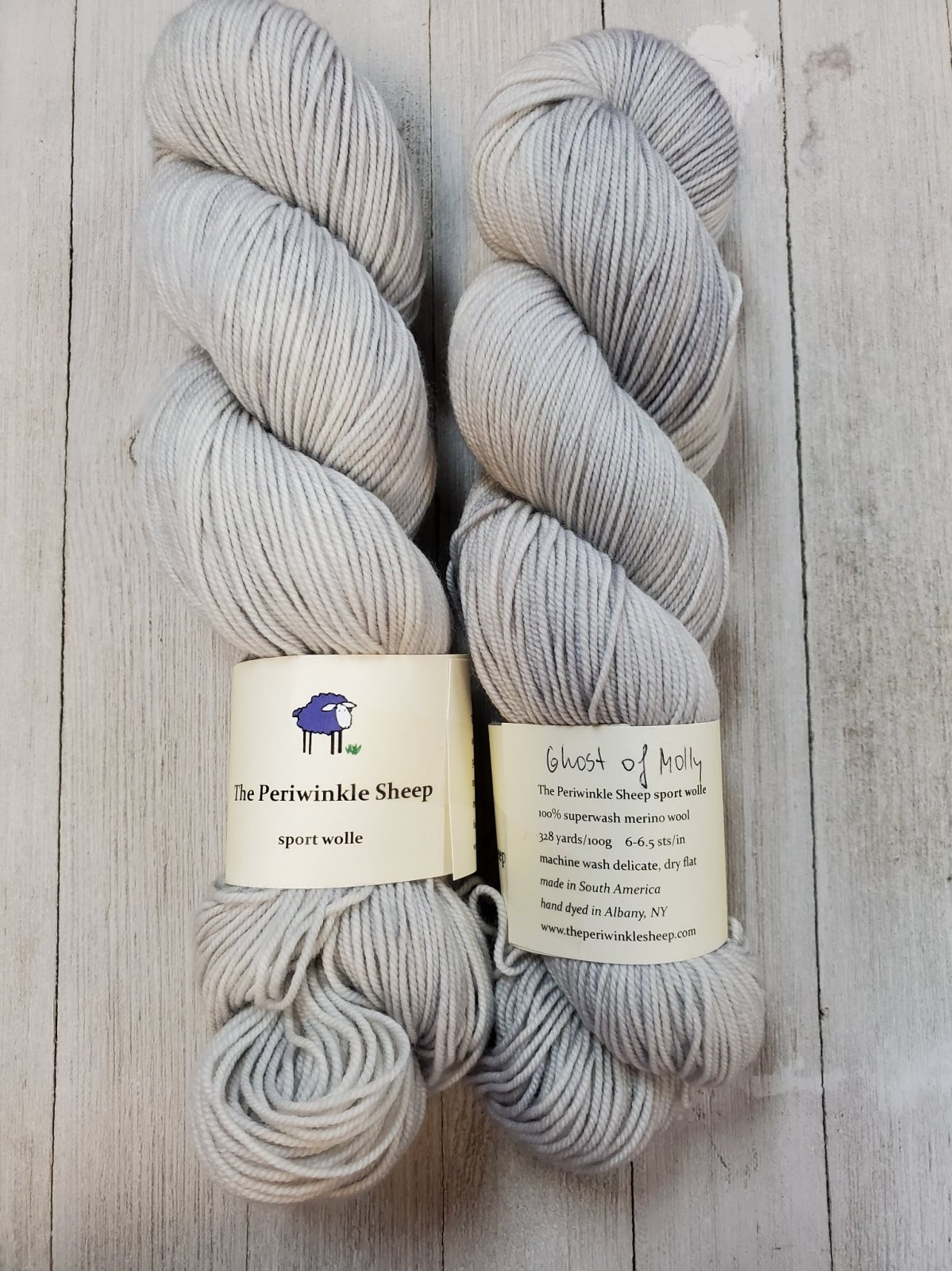 Periwinkle Sheep Sport Wolle