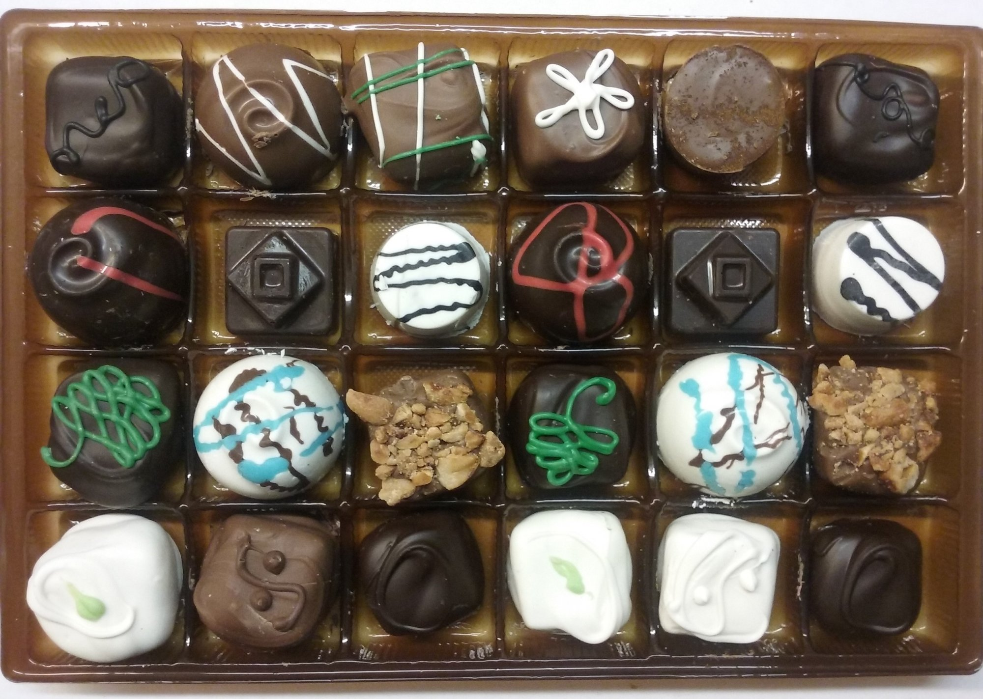 Toast to Montana 24pc Sampler Chocolate Box